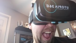 Smartphone Utopia VR Headset Review