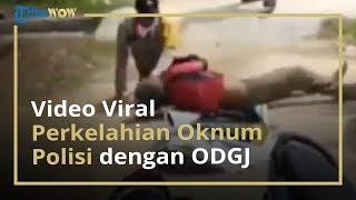 2 Oknum Anggota Polisi Pukuli Seorang Pria Diduga ODGJ Kini Ditahan oleh Propam Polres Aceh
