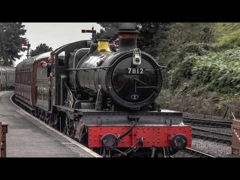 GWR 7800 Class 7812 'Erlestoke Manor' on The Severn Valley R…