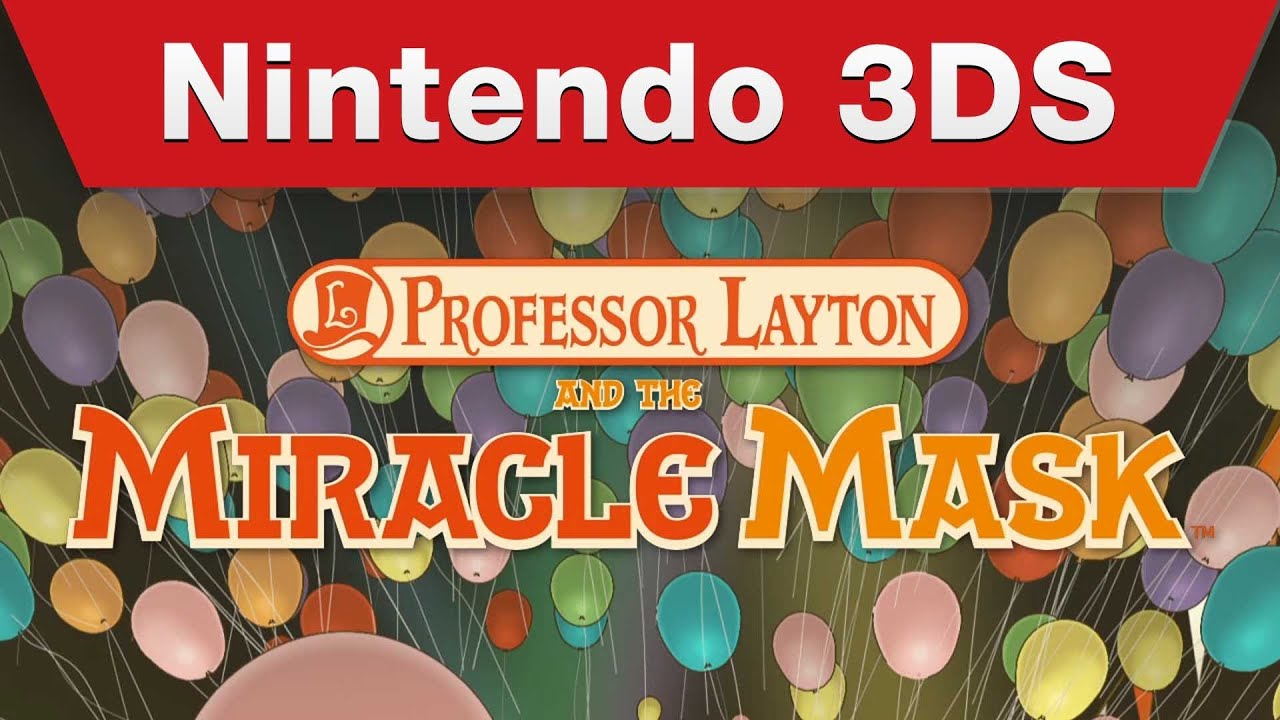 The Puzzles In The Newest Professor Layton Sure Look Different