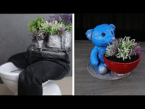 Cool Life Hacks and Crafts You Can Do Using Cement