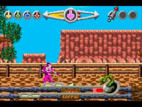 power rangers time force gba part 1
