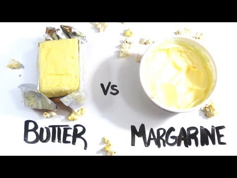 Video Butter vs Margarine