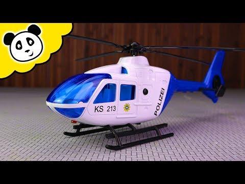 Dickie Toys - Der NEUE Polizei Hubschrauber! - Spielzeug auspacken & spielen - Pandido TV