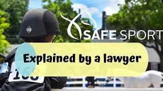SafeSport, George Morris Ban & Michael Barisone Tragedy