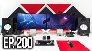 Room Tour Project 200 - Clean & Minimal Setups ft. MKBHD