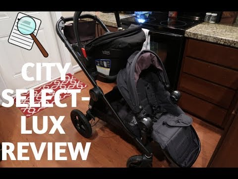 CITY SELECT LUX STROLLER REVIEW – 2 under 2