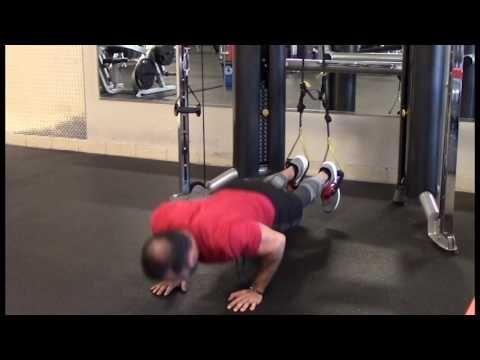 TRX Push Up - Feet Elevated