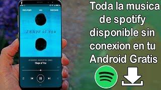 Descargar musica con maxima calidad desde Spotify|con caratula|320 kbps|Android-2017 gratis.