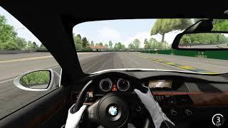 Assetto Corsa - BMW M5 на Cirsuit de la Sarthe