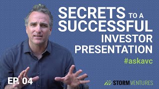 AskAVC #4 – Secrets to a successful investor presentation (based on 20 years of experience!)