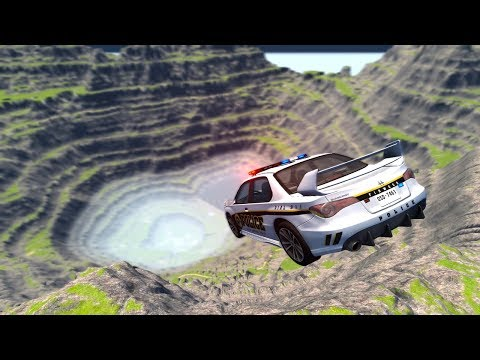 Cliff Of Death #4 - BeamNG Drive