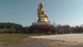 preview picture of video 'Big Buddha Statue, Samut Songkhram, Thailand'