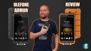 Ulefone Armor Review. Protected Phone (IP68) with briliant specs