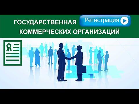 Государственная регистрация коммерческих организаций. Бизнес-диалог