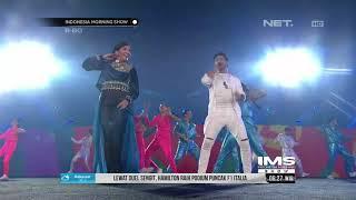 Cuplikan Penampilan Denada Saat Bawakan Lagu Kuch Kuch Hota Hai Di Penutupan Asian Games 2018