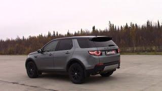 Самый мощный  Land Rover Discovery Sport, заезд с Мазда сх7.