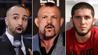 Лидделл, Малиньяджи и Ислам Махачев поддержали Хабиба в вопросе ультиматума UFC