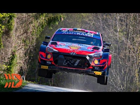 WRC 2021 第3戦ラリー・クロアチア SS5-8ハイライト動画
