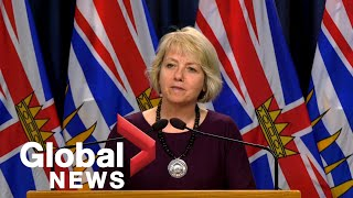 Coronavirus outbreak: B.C. reports 12 new COVID-19 cases, 4 new deaths since Saturday | FULL