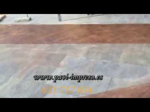Pavimento en Madrid de la empresa Pavi Impreso