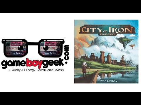 The Game Boy Geek Reviews City of Iron (2nd ed.)