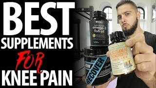 BEST Supplements for Knee Pain! (Speed Your Recovery and Cure Patellar Tendonitis FAST)