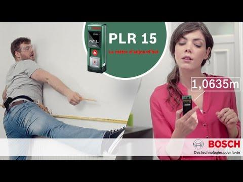 Télémètre laser Bosch PLR 15 - Spot Publicitaire 2014 tout savoir sur les télémètres laser - 0 - Tout savoir sur les Télémètres Laser