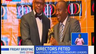 Institute of Directors of Kenya fetes business leaders with honors