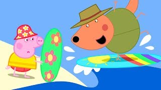 Peppa Pig Official Channel 🏄♀️ Peppa Pig Learns How to Surf 🏄♀️ Peppa Pig Australia Special