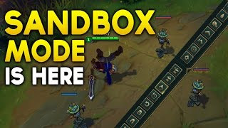 UNLIMITED FLASHES? SANDBOX MODE Is Finally Here! (League of Legends)