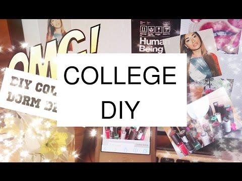 Inexpensive DIY College Dorm Decor Stuff | Bri Hall