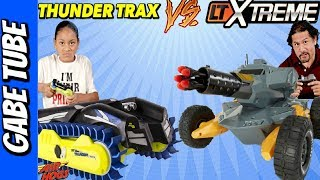 Top Toys LTXTREME vs AIRHOGS THUNDER TRAX both are for LAND & SEA Gabe Tube TV