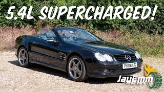 The Budget McLaren SLR? 2006 Mercedes SL55 AMG Review