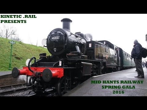 The Mid Hants Railway Spring Gala 12th - 14th February 2016