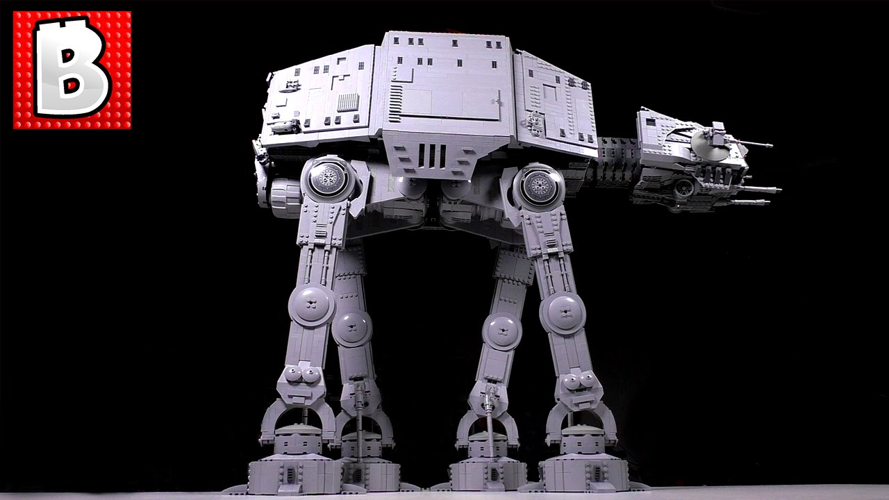 Watch A Massive LEGO Star Wars AT-AT Being Built From Scratch