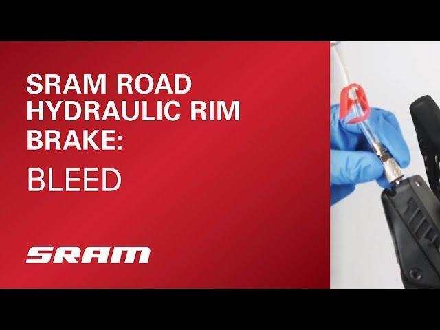Видео Гидролиния Sram RIM BR HYD Hose Road blk 2000mm