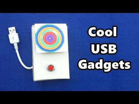 4 Cool USB Gadgets you can Make at Home – DIY Tutorials