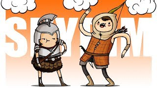 SKYRIM МУЛЬТИПЛЕЕР: БАГИ И ПРИКОЛЫ УПОРОТОГО МОДА! | Друзья по Skyrim #8