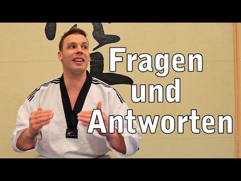 Fragen & Antworten:  Nervös bei der Taekwondo Prüfung - Was kannst du tun?