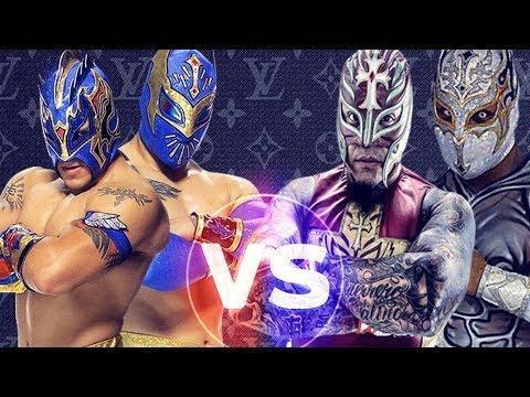 rey mysterio and sin cara mistico vs kalisto and sin cara hu