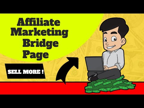 Affiliate Marketing Bridge Page