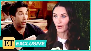 Courteney Cox Reflects on the 'Best Show' 'Friends' and Old Pal David Schwimmer (Exclusive)