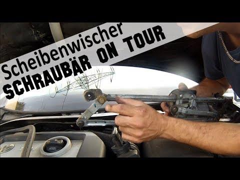 """Schraubär on tour, Scheibenwischer geht nicht was jetzt?! """"HILFE"""""""