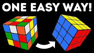 How to Solve a 3x3 Rubik's Cube In No Time