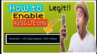 5th Generation:How to enable 5g on any android phones (2020)/ How to make data 5times faster