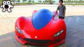 Incredible Custom DIY Supercars People Built Themselves