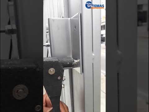 Como se instala cerradura electromagnética en puerta exterior