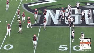 September 14, 2018 Tahlequah Tigers vs. Sallisaw Black Diamonds