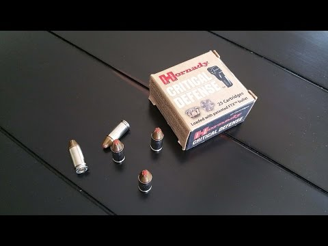 Video Best 9mm Ammo for Self Defense